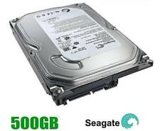 "SEAGATE 500 GB HDD SATA 3.5"" INTERNO PC DESKTOP HDD Hard Disk Drive MAC CCTV DVR"