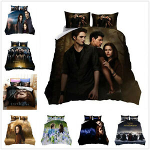 The twilight saga 3D Bedding Set Duvet Cover Pillowcase 4 Sizes UK2H
