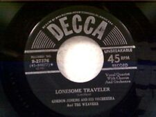 "GORDON JENKINS ""LONESOME TRAVELER / SO LONG"" 45"