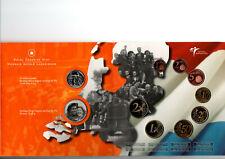 NEDERLAND THEMASET 60 JAAR BEVRIJDING 2005 MET ZILV PENNING EN 25 CT CANADA ZILV