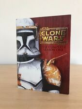 Star Wars: THE CLONE WARS The Complete Season One (1 DVD 4-Disc Set w  Art Book)