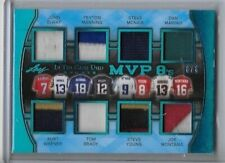 2018 LEAF ITG GAME USED JERSEY PATCH TOM BRADY YOUNG WARNER ELWAY MARINO 6/6