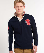 Superdry Casual Rugby Shirts for Men