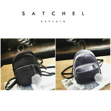Satchel Simple Backpack Fashion Shoulder Bag Shopping Ladies Women Travel School
