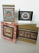 Mr Smith's Workshop Cardmaking Kit 1 Instructions For 4 Men's Cards
