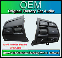 BMW 3 Series Steering Wheel buttons Multi-function control, BMW F30 F31 Sport