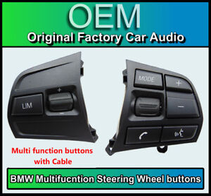 BMW 1 Series steering wheel buttons multifunction controls F20 F21 Sport 9225710