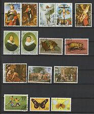 1970/80 St Tome et Principe 15 timbres oblitérés / T1395
