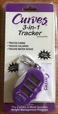 Curves 3-in-1 Tracker Calories Carbohydrates Water