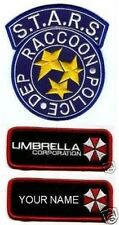 RESIDENT EVIL S.T.A.R.S RACOON CITY POLICE NAME TAG SET