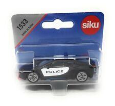 Siku 1533 BMW i8 Police black white blister card DieCast toy car