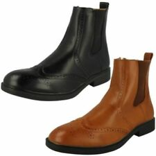 Casual Zip Ankle Boots for Men