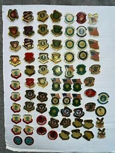 76 Desert Storm Shield Restore Hope Army Navy Marines Air Force US Military Pins