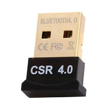 USB 2.0 Bluetooth Dongle Ver 4.0 Wireless Adapter Cordless For Laptop PC Desktop