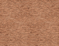 O Scale Stone Model Train Scenery Sheets –5 Seamless 8.5x11 Coverstock Brown