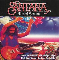 Santana CD The Hits Of Santana - Cardboard sleeve - France (VG+/EX)
