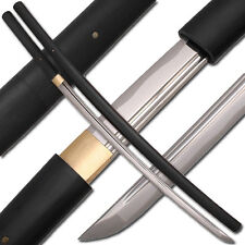 Shirasaya Functional KATANA Bushido Ebony Sword Full Tang BATTLE READY Sharp