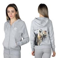 Adidas Originals X Rita Ora Puppy Dog Pack Hooded Sweat Jacket Trefoil Hoodie