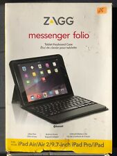 ZAGG Folio Bluetooth Keyboard Case for Apple iPad Pro Air 2 9.7-inch - Black