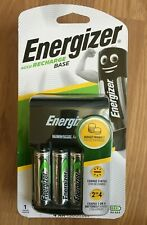 Energizer Base AA/AAA Battery Charger supplied with 4 x AA 1300mAh Batteries