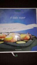 Libro de Recetas Thermomix TM31 A todo vapor en español