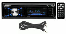 Boss 508UAB 1-DIN Car CD/MP3 Player Receiver w/Bluetooth USB/SD+Remote+AUX Cable