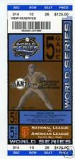 2003 SF Giants Unused Full World Series Ticket (4)