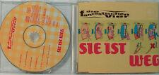 LE FANTASTIQUE QUATRE - ELLE EST WEG - MAXI CD (O124)