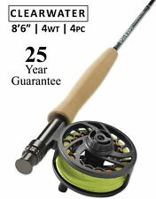 "Orvis Clearwater 4wt Fly Rod 8'6"" - 25 Year Warranty - Free Shipping"