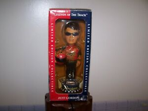 """""""Legends Of The Track"""" Jeff Gordon Limited Edition  Bobblehead. Pre-Owned-2001"""
