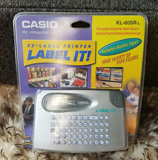 Casio EZ-Label Printer KL-60SR-L LABEL IT! New in Package