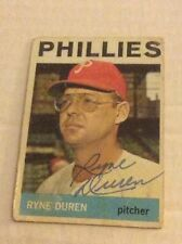 1964 Topps 173 Ryne Duran Autographed Auto Signed Card