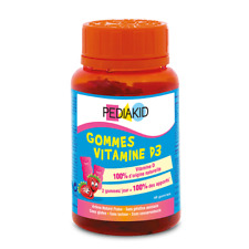 Pediakid Gums Vitamin D 60 Teddies