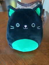 "SQUISHMALLOW CLEO THE CAT 8"" RARE HALLOWEEN"