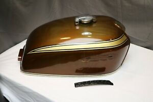 Honda CB750 K1 Tank and Panels - Candy Garnet Brown