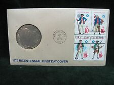 1975 Paul Revere Lexington Concord Bicentennial First Day Cover