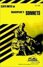 Shakespeare's Sonnets (Cliffs Notes), Lowers, James K., Acceptable Book