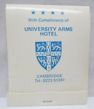 Vintage University Arms Hotel Cambridge UK Travel Sewing Kit