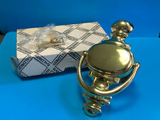 Vtg Baldwin Brass 0180-030  Door Knocker In Original Box With Hardware