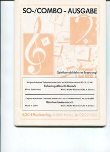 Erzherzog Albrecht Marsch/Kärtner Liedermarsch Salonorchester Combo