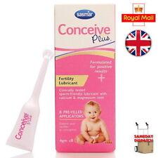 Sasmar Conceive Plus Fertility Lubricant Individual Use Applicators -8 Pack UK