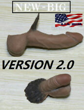 """2 x 1/6 Male Genitals Penis EXTRA LARGE For 12"""" PHICEN TBLeague Action Figure"""