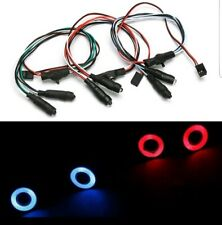 RC-CAR -LED Angel Eye ,Beleuchtungset , 2 Stück Rot /weiß . -NEU!!