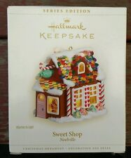 Hallmark Christmas Ornament SWEET SHOP First in Series Gingerbread House