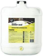 Lanotec Timber Sealer Protector Lanolin 20 Litre Sealant Decking Weatherproof