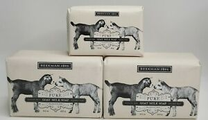 Beekman 1802 Pure Fragrance Free Goat Milk Soap Bar 9 & 3.5 Ounce Size- Lot of 3