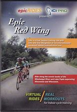 EPIC RIDES RED WING Virtual Rides - Real Workouts For Indoor Cycle Training DVD