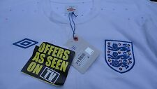 Umbro English Soccer Jersey New With Tags Size 46 White