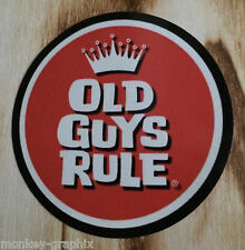"Retro Aufkleber / Sticker ""Old Guys"" US V8 Ratrod Hot Rod - Pinup Oldschool 0146"