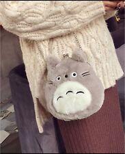Totoro kawaii my neighbour studio Ghibli plush Crossbody clasp purse handbag